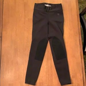 Fleece lined Girls riding pants